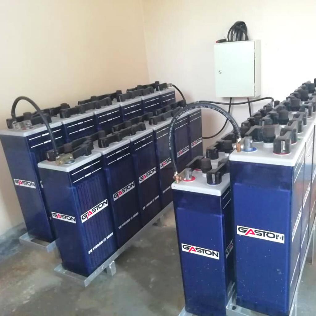 Installation des Stromspeichers
